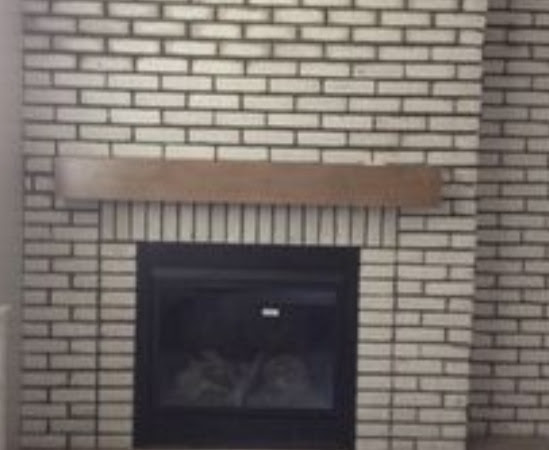 Inside Fireplace Surround & Hearth