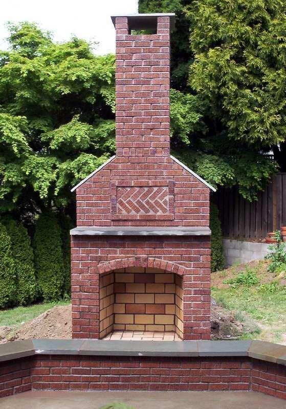 Outdoor Fireplaces | Stone Fireplace | Brick Fireplace